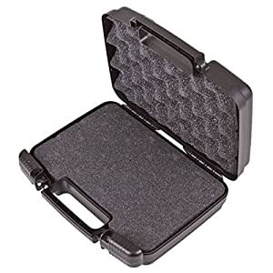 CASEMATIX Portable Projector Hard Case with Internal Customizable Diced Foam and Carrying Handle - Fits Sony Pico Mobile Projector MPCL1