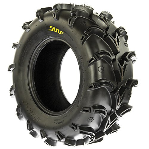 SunF A050 AT Mud & Trail 25x11-10 ATV UTV Tires, 6PR, Tubeless by SunF (Image #5)
