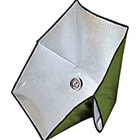 Uboway Portable Solar Oven Bag with Thermometer for Camping, Hiking, Picnic, Outdoor Activities