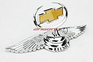 Car Auto Hood Bonnet Ornament Chrome Eagle Emblem For Chevrolet Beat Cruze Spark Sail Enjoy