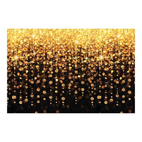 Fun Express Celebration Lights Backdrop Banner (9 ft. x 6 ft) Plastic. -