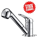 Installing a Kitchen Faucet OOFAY Chrome Single Handle Chrome Pull Out Sprayer Kitchen Sink Faucets, Pull Down Kitchen Tap for Cold and Hot Water,Bathroom sink faucet