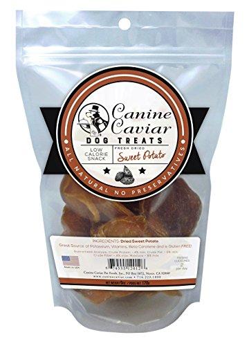 Canine Caviar Treat Sweet Potato 6Oz (Canine Food Caviar Pet)