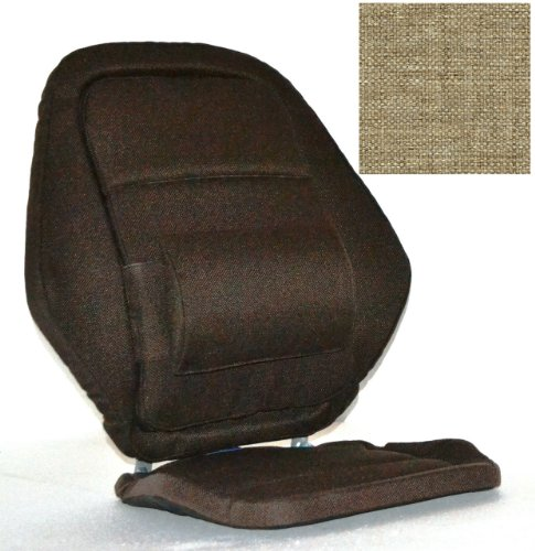 Deluxe Back Rest Finish: Light Brown by McCarty's