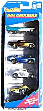 Hot Wheels 50s Cruisers Gift Pack Five 5 Collectible 1:64 Scale ...