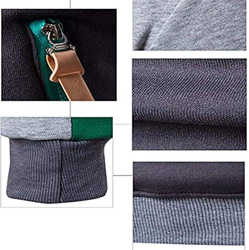 Męska bluza sweter z kapturem sweter sportowy chłopcy kurtka z kapturem bluza z długim rękawem Modernas swobodna patchwork outwear bluza z kapturem sweter czerwony niebieski jasnoszary ciemnoszary: Odzie&#