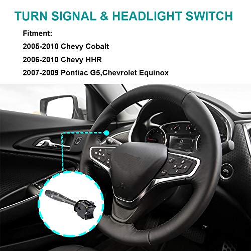 Turn Signal Switch D6254E for Chevy Cobalt HHR Pontiac G5 Headlight Dimmer  Blinker Switch