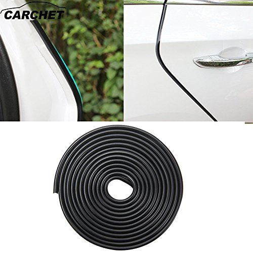 Car door edge guard 16ft – Trim Bumper protector - Durable and Cleanly Remove Design - car protection - Fit for most cars (Car Door Molding)