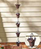 Decorative Iron Bird Rain Chain