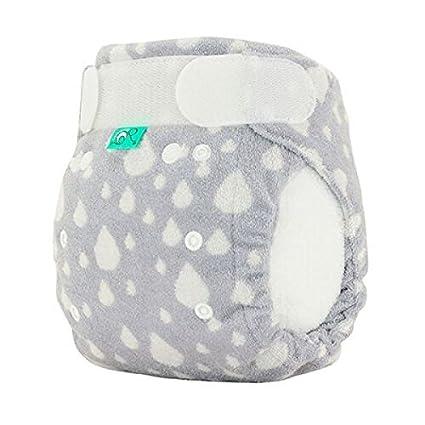 TotsBots Bamboozle elástico tamaño 1 bambú polar reutilizable lavable pañales en Plop diseño
