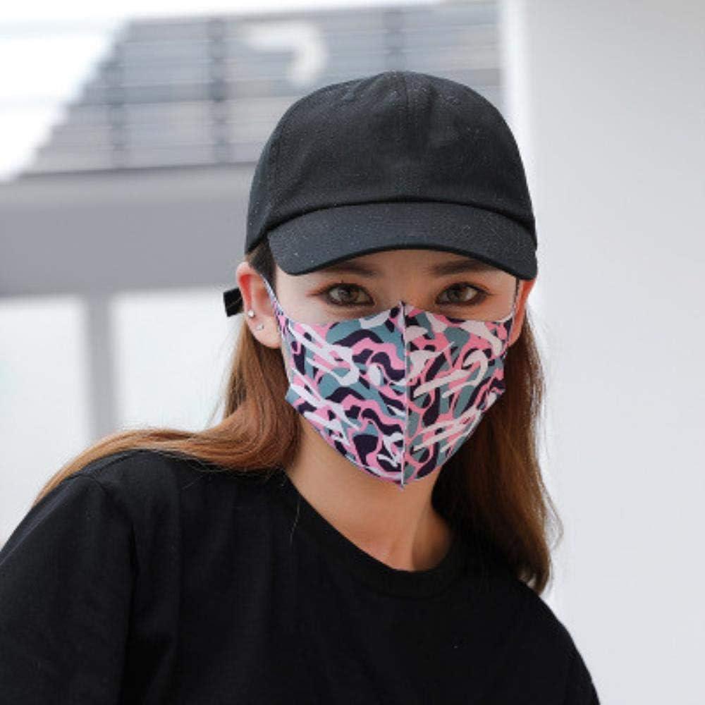 GYJWPANZZ Máscara Algodón Mascara 1 Unids Algodón Lindo Pm2.5 Máscara Bucal Anti Haze Máscara De Polvo Filtro De Nariz Resistente Al VientoBacteriasCaraGripe Tela Respirador De Tela, A, China
