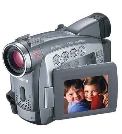 amazon com canon zr85 minidv camcorder w 20x optical zoom rh amazon com Review Canon ZR850 Canon ZR500 Accessories