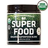Organic & Kosher Greens Superfood Powder Blend Supplement Review and Comparison