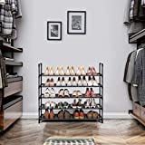 SONGMICS 5-Tier Shoe Rack, Shoe Storage, Shoe