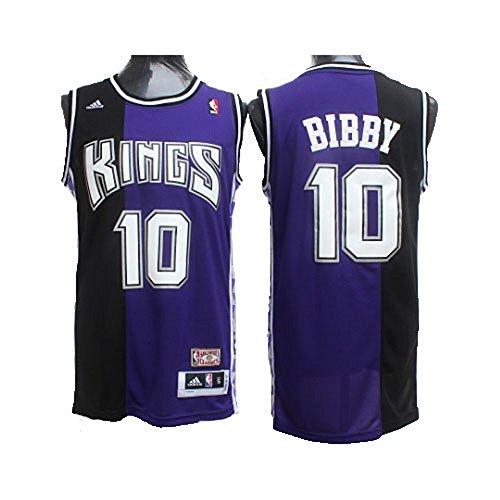 bibby Jerseys Sacramento 10 Jersey Men's Blue (S)