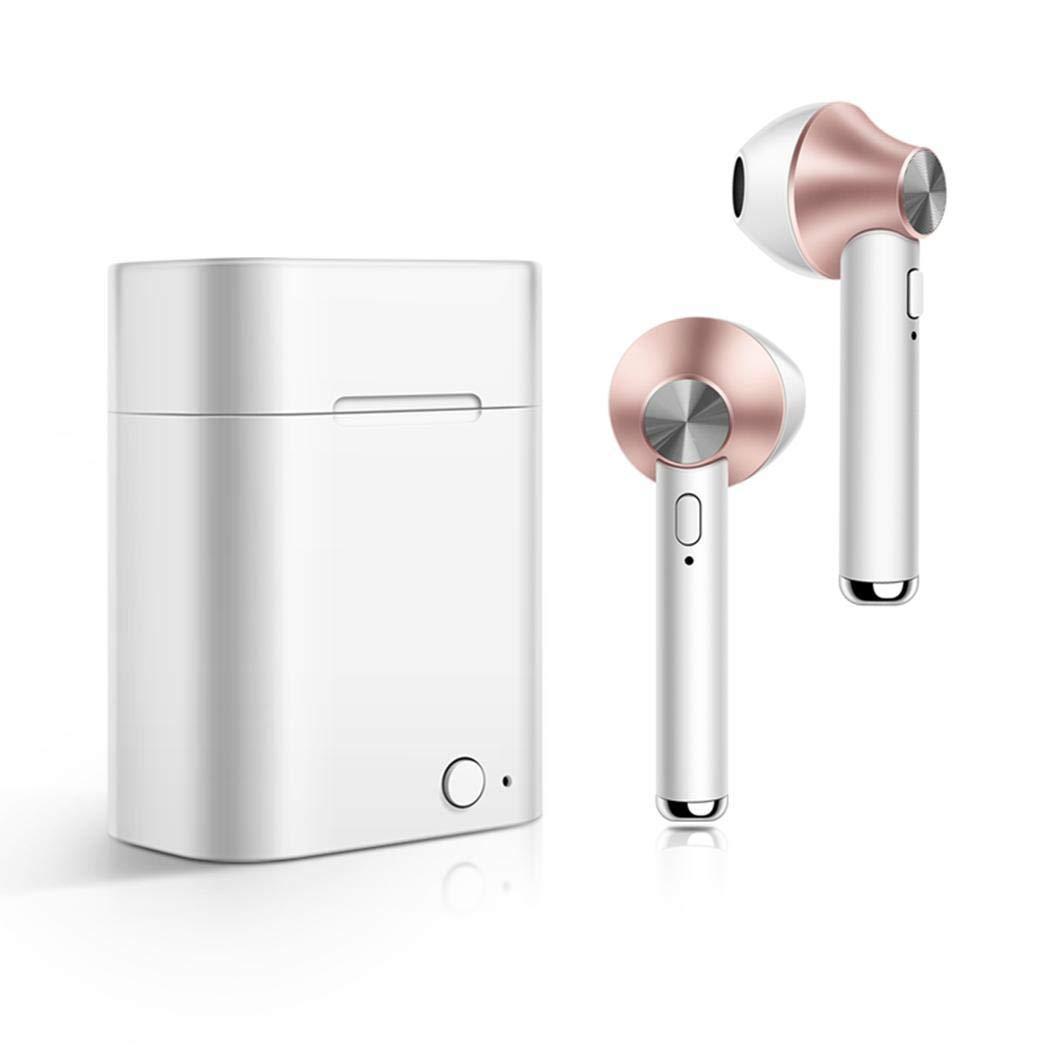 Haonike Bluetooth-Kopfhörer für drahtlose Musik-Ohrhörer mit Ladegerät Kopfhörer