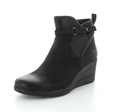 Womens Boots UGG Emalie Black Leather