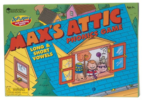 Max S Attic Phonic Game Long And Short Vowels Import It All