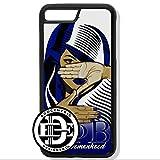 (iPhone 8 Plus) EGOCENTRIC DESIGN & CO. Zeta Phi Beta Sorority TPU Rubber Silicone Phone Case
