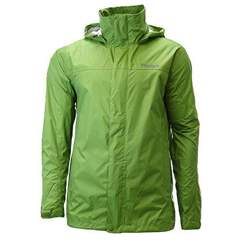 Marmot Men's PreCip Jacket: Shell (AlpineGreen, Small)