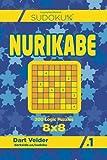 Sudoku Nurikabe - 200 Logic Puzzles 8x8