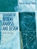 Essentials of System Analysis and Design, Joseph S. Valacich and Joey F. George, 0131854623