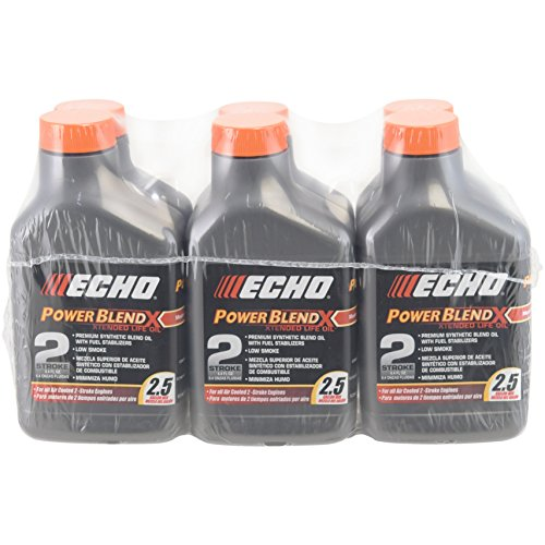 2 Stroke Cycle Engine (Echo 6450025 Power Blend Xtended 2-stroke Oil Mix for 2.5 Gallon (50:1) 6 Pack)