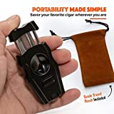 Harbor Creek V-Cutter Cigar Tool with Built-in