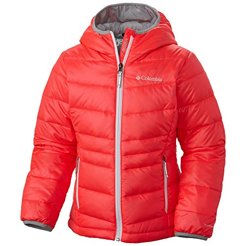 Columbia Girls' Gold Tdown Jacket (XX-Small, Orange) by Columbia