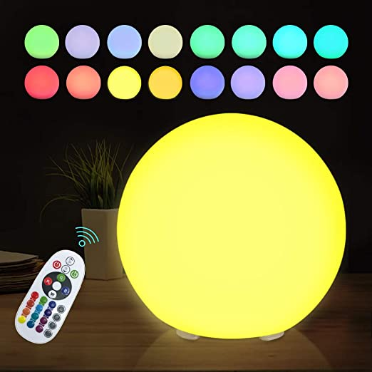 Colour Sphere Weather Proof Garden Lawn Decoration Novelty RGB Lamp LED Multi