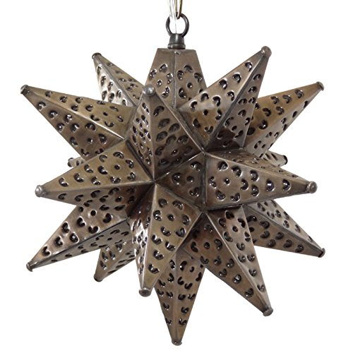 Tin Star Pendant Light in US - 8