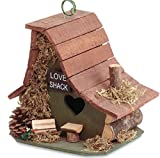 Regarmans New Love Shack Premium Wooden Bird House - Garden & Yard Decor Birdhouse,product_by: phbilal85 it#25252491770302