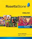 Software : Rosetta Stone English (American) Level 1-5 Set [Download]