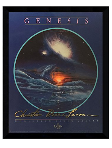 ''Genesis'' By Christian Riese Lassen 24x30 Glossy Finish Poster Art Print (Framed) by ImpactInt