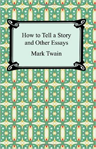 how to tell a story and other essays mark twain  how to tell a story and other essays mark twain 9781420930368 com books