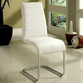 247SHOPATHOME IDF-8371T-WH-4PK Dining Room Set White