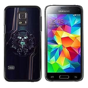 Be Good Phone Accessory // Dura Cáscara cubierta Protectora Caso Carcasa Funda de Protección para Samsung Galaxy S5 Mini, SM-G800, NOT S5 REGULAR! // Sci Fi Crest