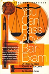 You Can Pass Any Bar Exam (1 ed) Paperback