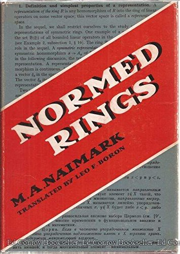 Normed rings,