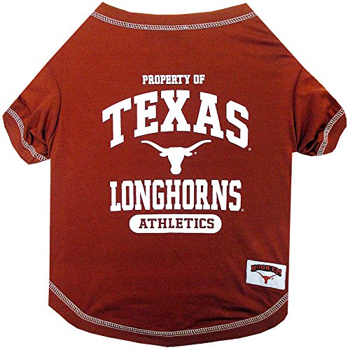 NCAA Texas Longhorns Dog T-Shirt, Small ()