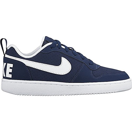 Court Low Scarpe Blu Borough Nike GS Bambino Basket Bianco da dq6Ew1