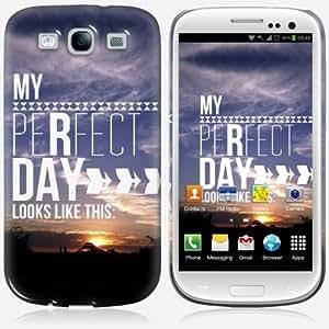 Galaxy S3 case - Skinkin - Original Design : My perfect day by Louise Machado