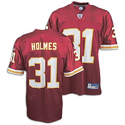 Kansas City Chiefs Priest Holmes  31 NFL Replica Jersey by Reebok (Adult  Medium) 8de255db2