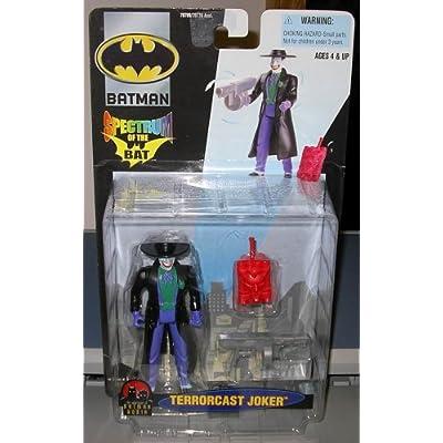 Terrorcast Joker Batman: Spectrum of the Bat Action Figure 2000: Toys & Games