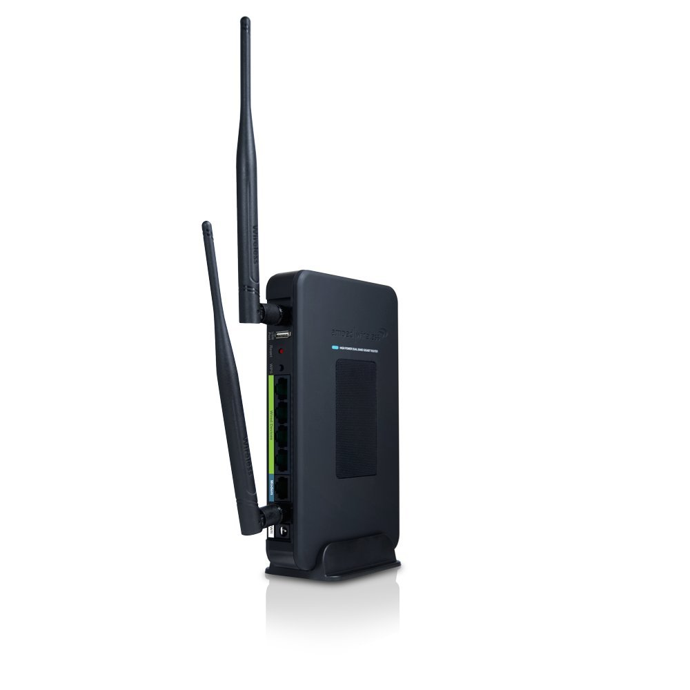 Amped Wireless High Power Wireless-N 600mW Gigabit Dual Band Router (R20000G) by Amped Wireless (Image #2)