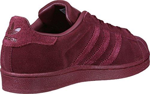 adidas Superstar J, Zapatillas de Deporte Unisex Niños Rojo (Buruni / Buruni / Buruni)