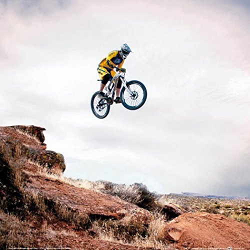 Posters: Mountain Biking Poster Art Print - Take Me Higher