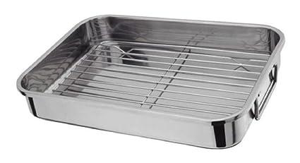 Bandeja de horno de acero inoxidable rejilla de horno de ...