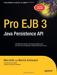 Pro EJB 3: Java Persistence API (Expert's Voice in Java)