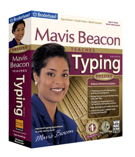 Mavis Beacon Teaches Typing Deluxe 16[OLD VERSION]